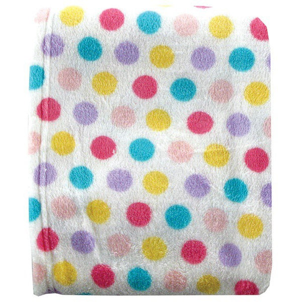 Luvable Friends Coral Fleece Blanket, Pink