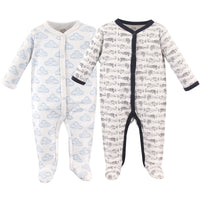 Hudson Baby Cotton Sleep and Play, Airplane