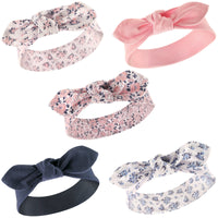 Hudson Baby Cotton and Synthetic Headbands, Classic Floral