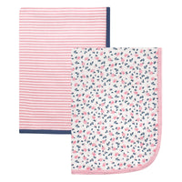 Hudson Baby Cotton Swaddle Blankets, Tiny Floral
