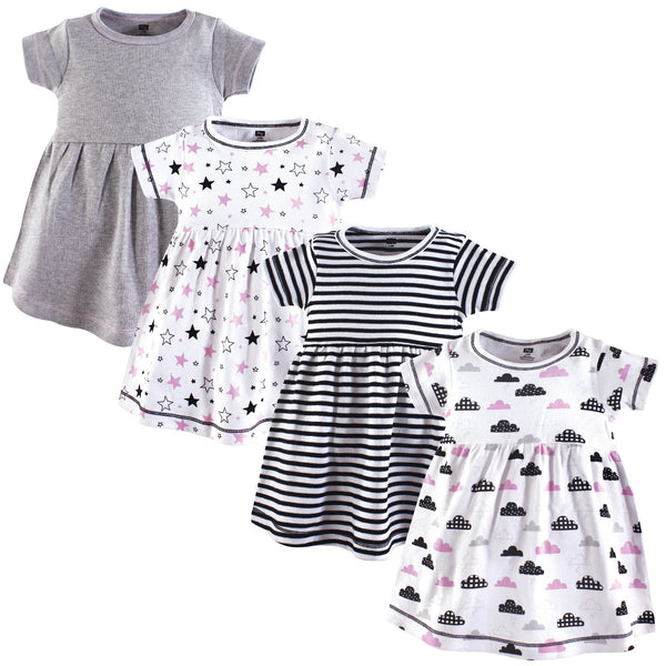 Hudson Baby Cotton Dresses, Moon And Back