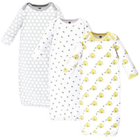 Hudson Baby Cotton Gowns, Bees