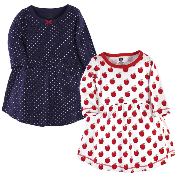 Hudson Baby Cotton Dresses, Apple