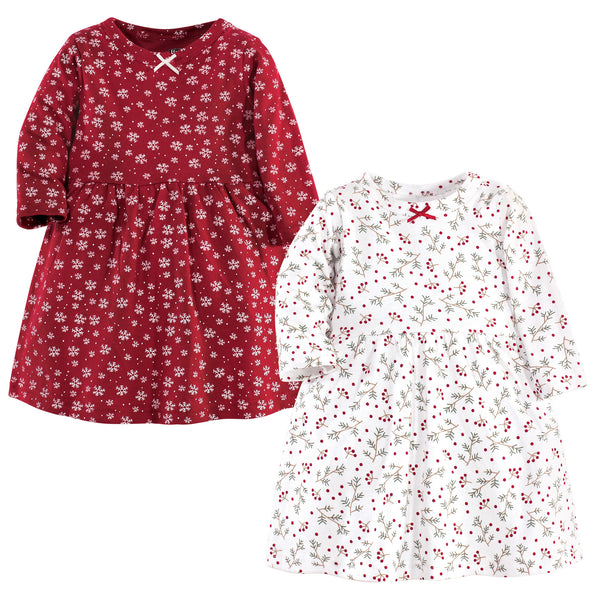 Hudson Baby Cotton Dresses, Winterland