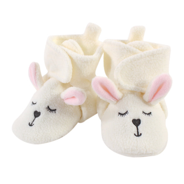 Hudson Baby Cozy Fleece Booties, Modern Bunny