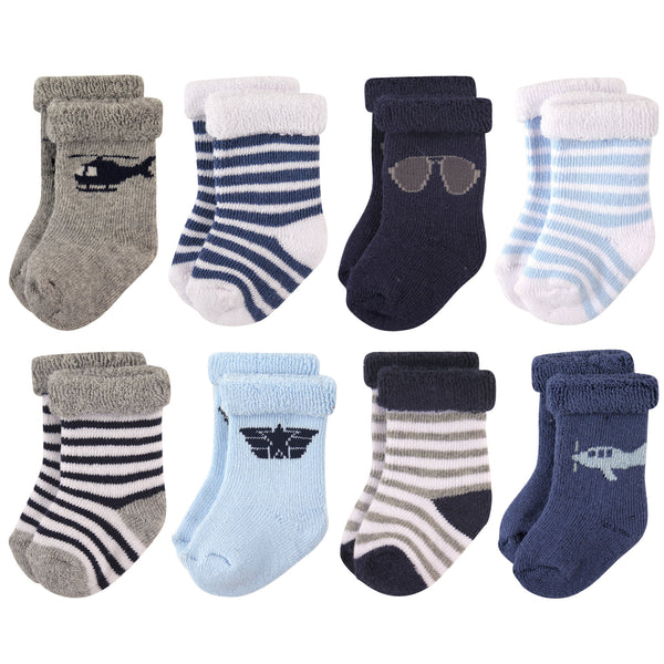 爱游戏下注|爱游戏棋牌|爱游戏app下载 Baby Cotton Rich Newborn and Terry Socks, Aviator