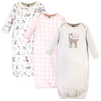 Hudson Baby Cotton Gowns, Enchanted Forest