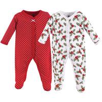 Hudson Baby Cotton Sleep and Play, Holly