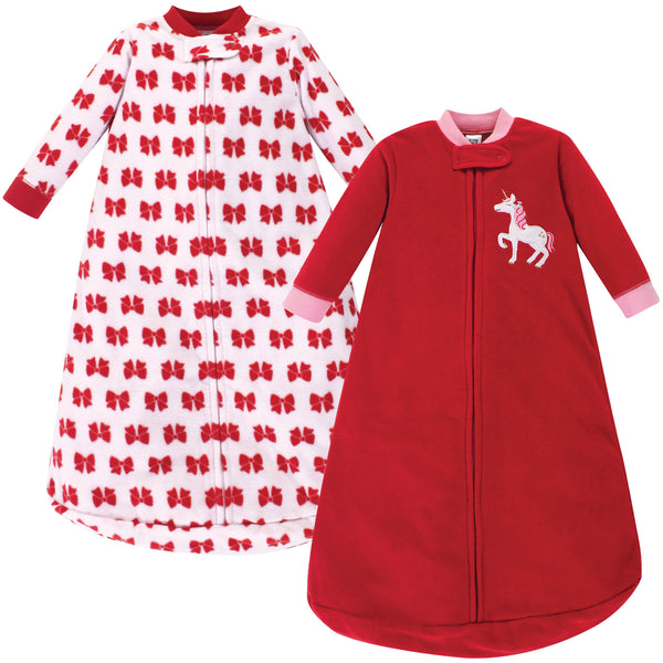 爱游戏下注|爱游戏棋牌|爱游戏app下载 Baby Long-Sleeve Fleece Sleeping Bag, Christmas Unicorn