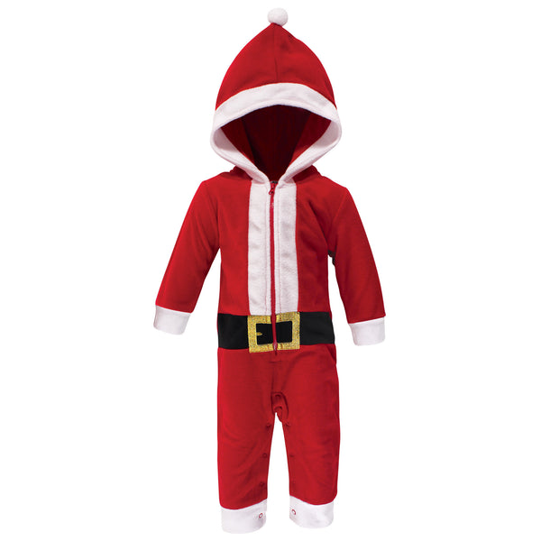 Hudson Baby Fleece Jumpsuits, Coveralls, and Playsuits, Santa Baby