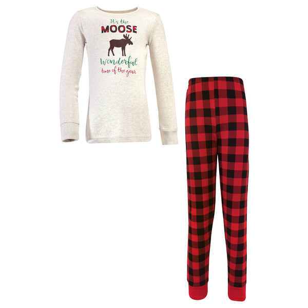 爱游戏下注|爱游戏棋牌|爱游戏app下载 Baby Holiday Pajamas, Moose Wonderful Time Kids
