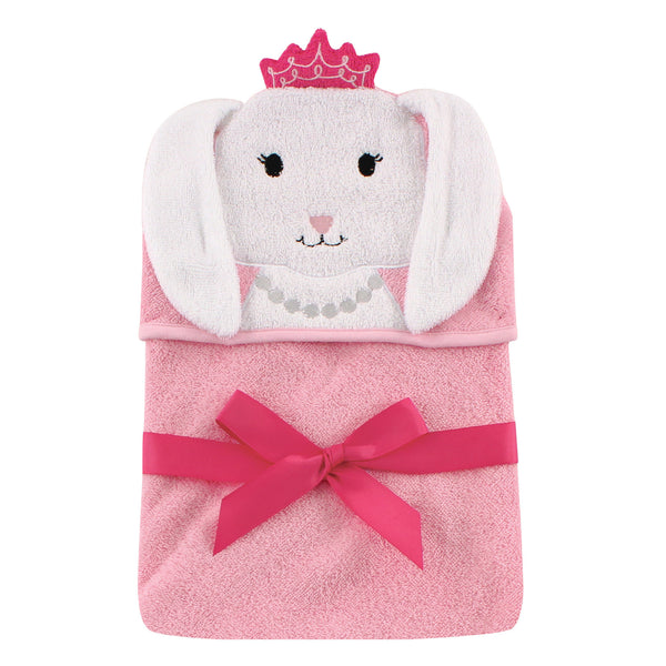 爱游戏下注|爱游戏棋牌|爱游戏app下载 Baby Cotton Animal Face Hooded Towel, Princess Bunny