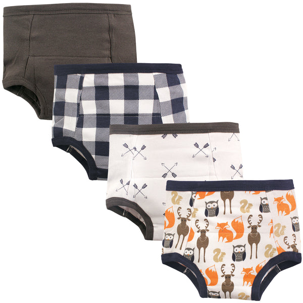 Hudson Baby Cotton Training Pants, Forest
