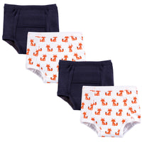 Hudson Baby Cotton Training Pants, Foxes