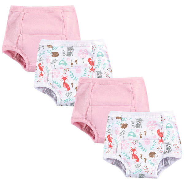 Hudson Baby Cotton Training Pants, Woodland Fox