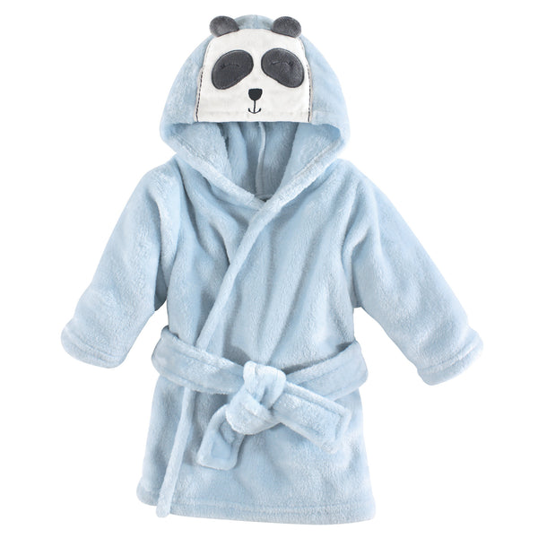 Hudson Baby Plush Animal Face Bathrobe, Modern Panda
