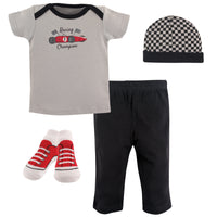 Hudson Baby Layette Boxed Giftset, Racing