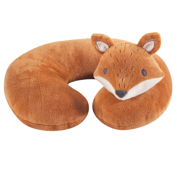 Hudson Baby Neck Pillow, Modern Fox