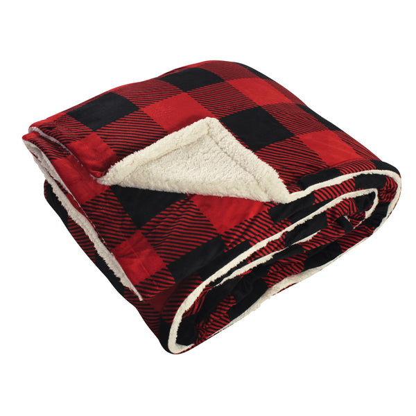 爱游戏下注|爱游戏棋牌|爱游戏app下载 Home Collection Mink Blanket with Sherpa Back, Buffalo Plaid Sherpa