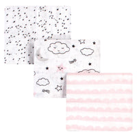 Hudson Baby Cotton Muslin Swaddle Blankets, Dreamer