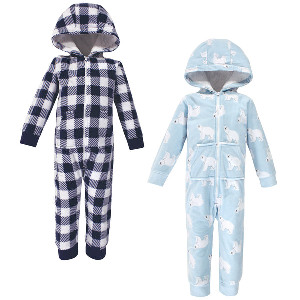 Hudson Baby Fleece Jumpsuits, Coveralls, and Playsuits, Polar Bear Toddler