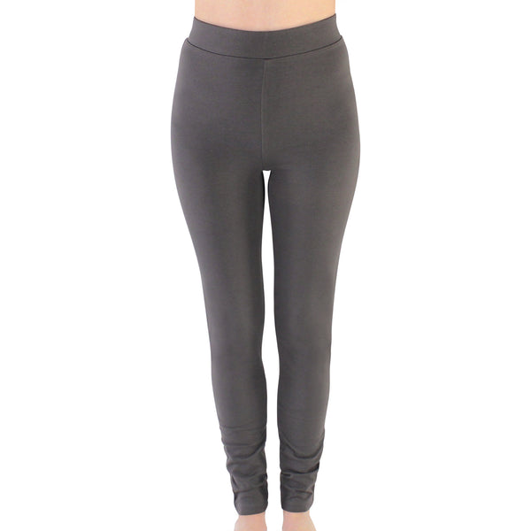 Touched by Nature Organic Cotton Leggings, Charcoal