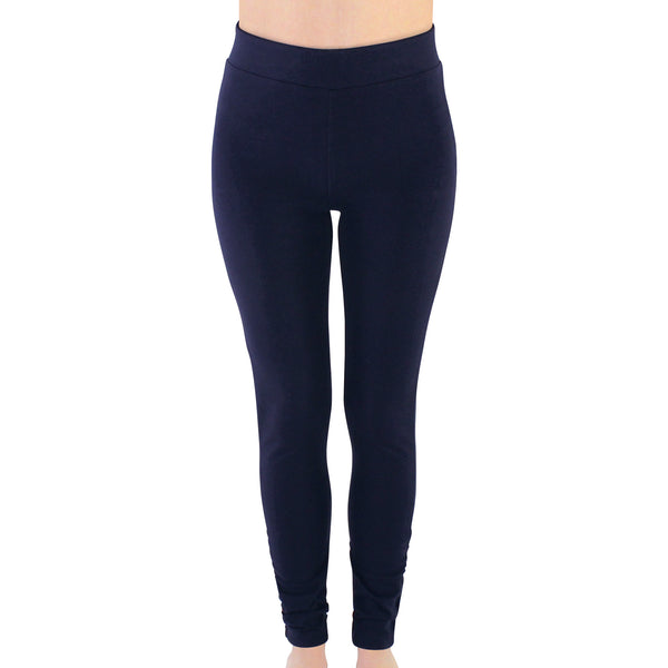 Touched by Nature Organic Cotton Leggings, Navy