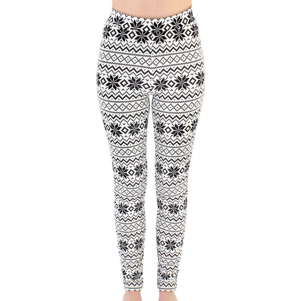Touched by Nature Organic Cotton Leggings, Fair Isle
