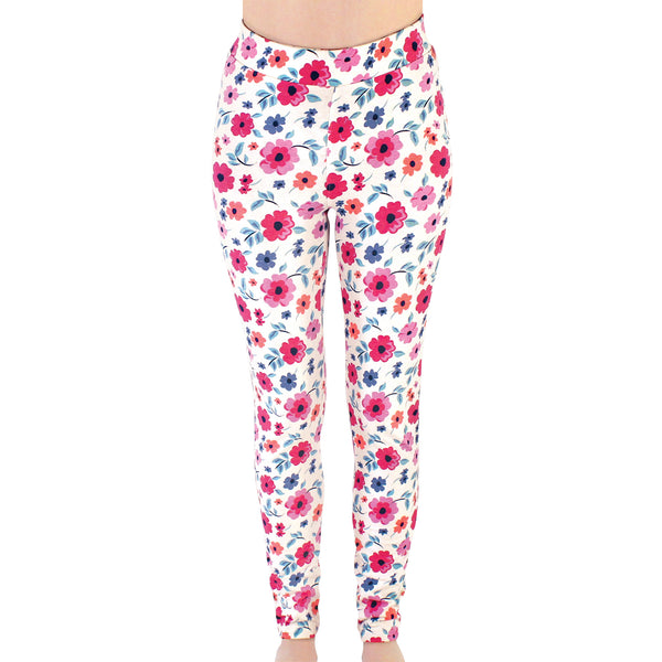 Touched by Nature Organic Cotton Leggings, Garden Floral Women