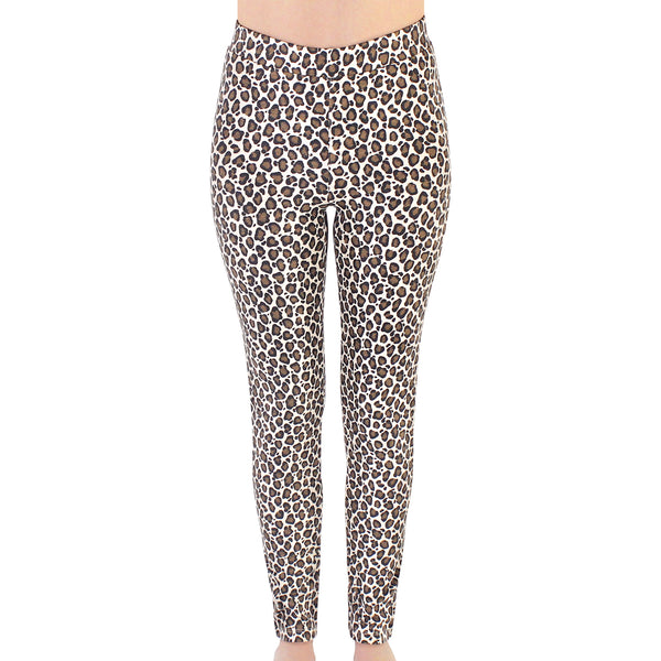 Touched by Nature Organic Cotton Leggings, Leopard