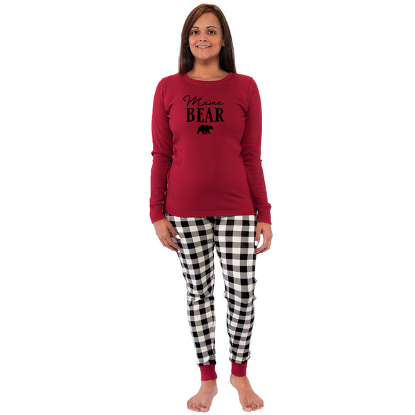 Touched by Nature Holiday Pajamas, Women Bear