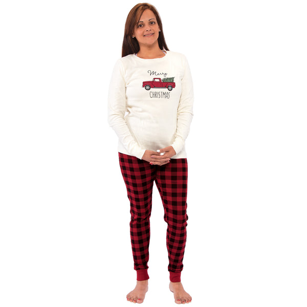 Touched by Nature Holiday Pajamas, Women Christmas Tree