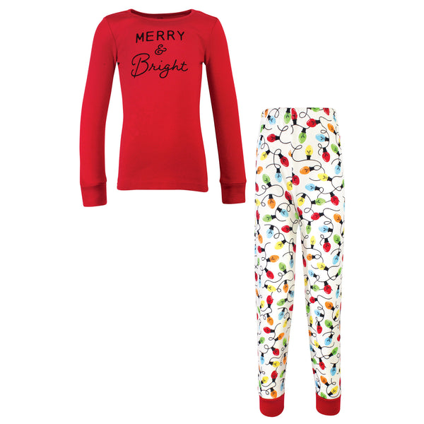 Touched by Nature Holiday Pajamas, Kids Merry and Bright
