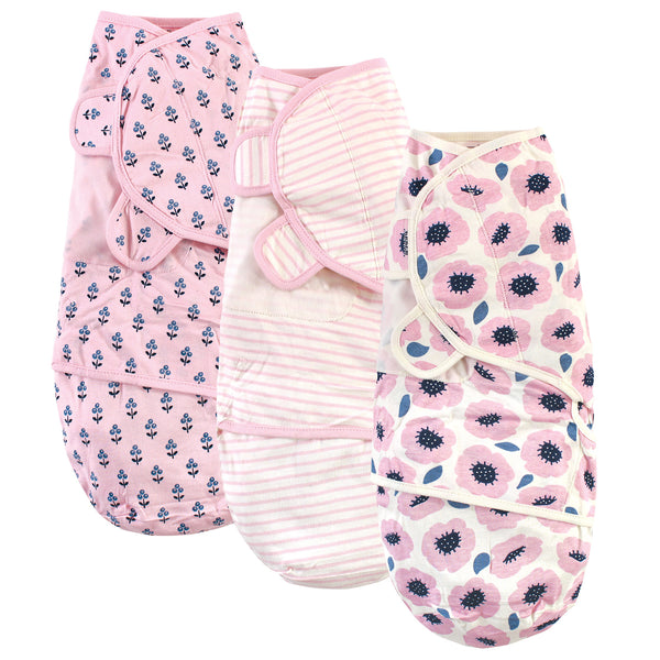 Touched by Nature Organic Cotton Swaddle Wraps, Blossoms