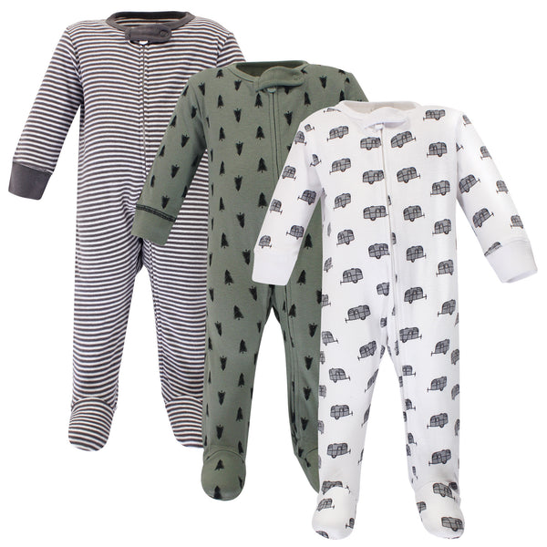 Touched by Nature Organic Cotton Sleep and Play, Happy Camper