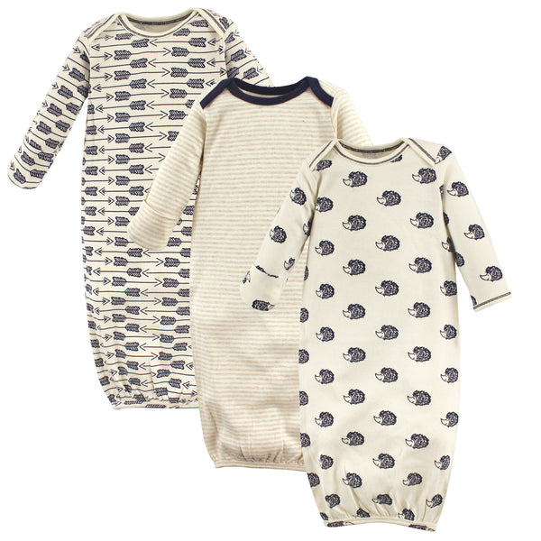 Touched by Nature Organic Cotton Gowns, Hedgehog