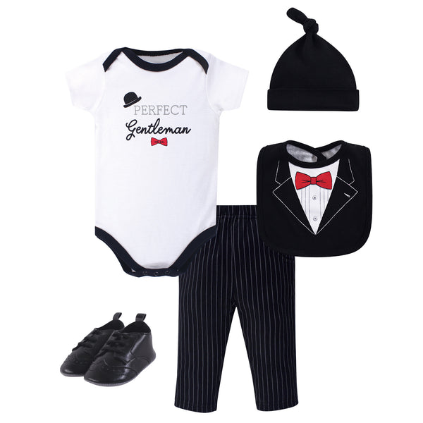 Little Treasure Layette 5-Piece Set, Gentleman Tuxedo