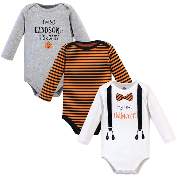 Little Treasure Cotton Bodysuits, Halloween Suspenders