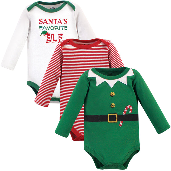Little Treasure Cotton Bodysuits, Elf