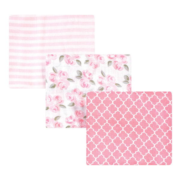 Little Treasure Cotton Muslin Swaddle Blankets, Beyoutiful