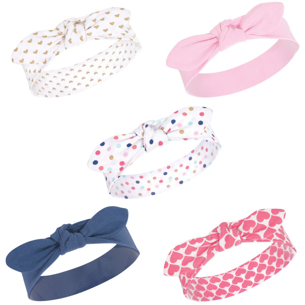 Little Treasure Cotton Headbands, Confetti