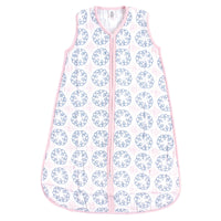 Yoga Sprout Sleeveless Muslin Cotton Sleeping Bag, Sack, Blanket, Whimsical