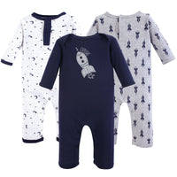 Yoga Sprout Cotton Coveralls, Spaceship