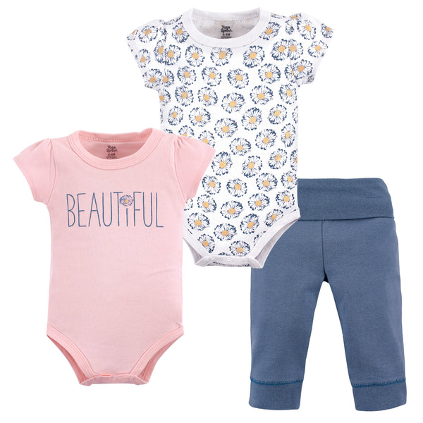 Yoga Sprout Cotton Layette Set, Beautiful