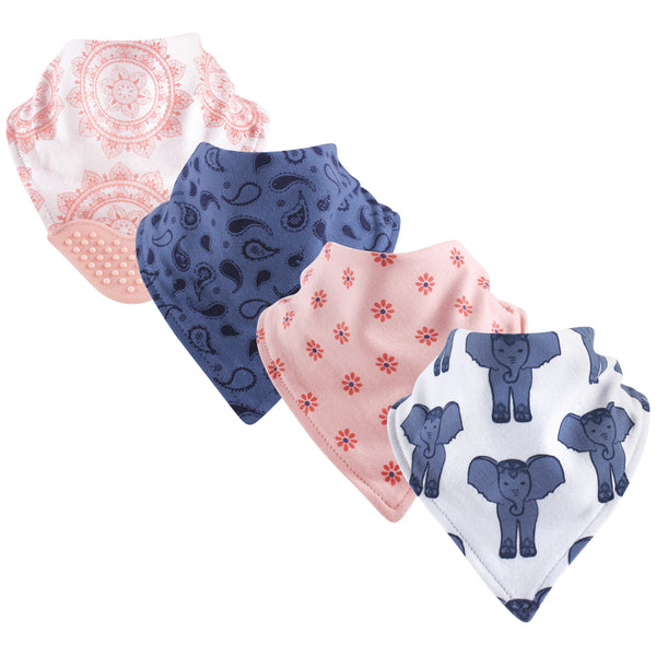 Yoga Sprout Cotton Bandana Bibs, Free Spirit