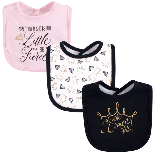 Yoga Sprout Cotton Bandana Bibs, Crown