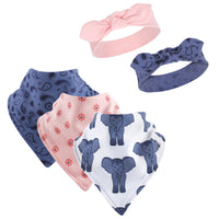 Yoga Sprout Cotton Bandana Bibs and Headbands, Free Spirit