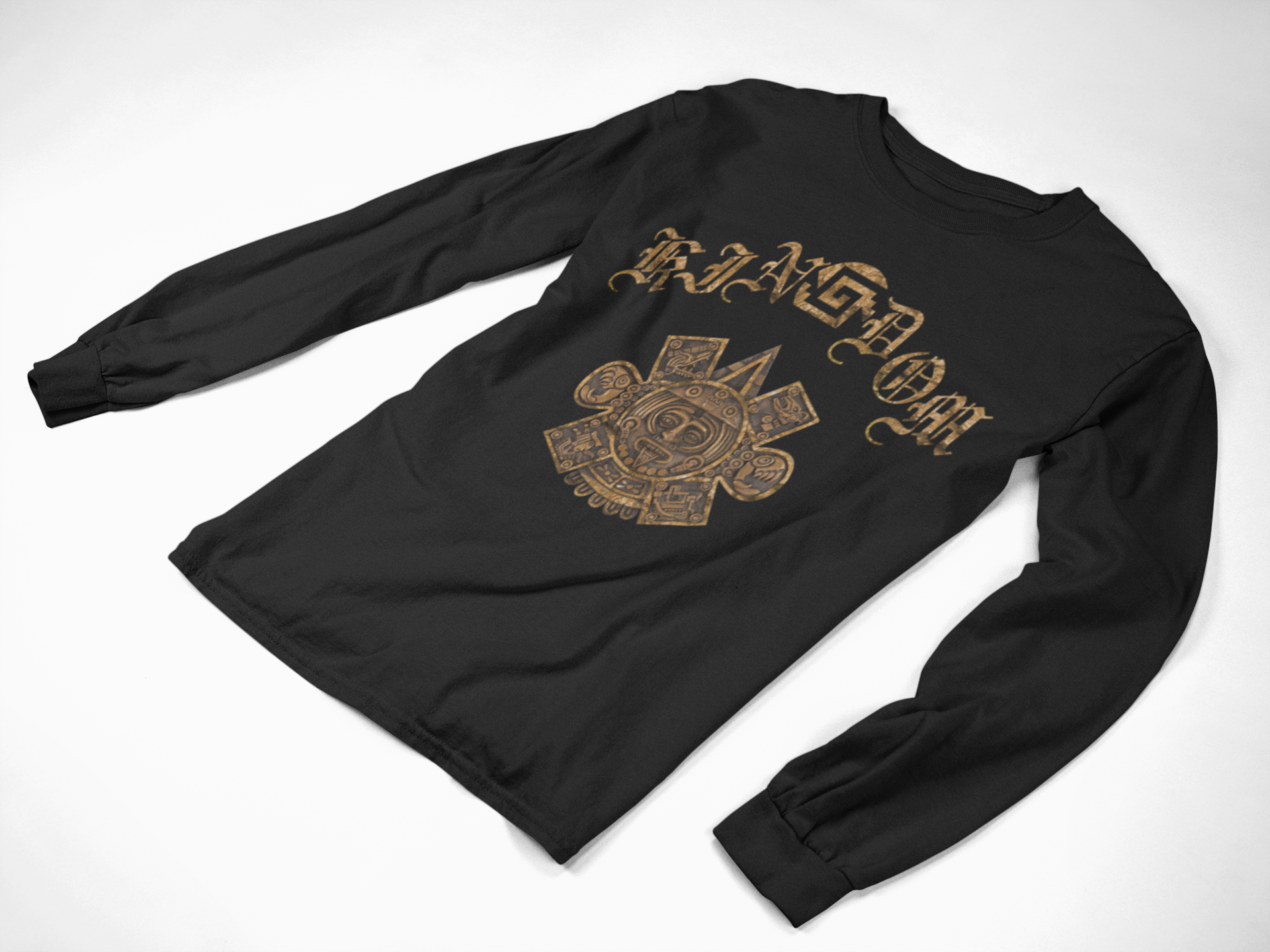 kinGdom Gold Unisex Long Sleeve T