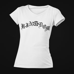 kinGdom Womens V Neck T