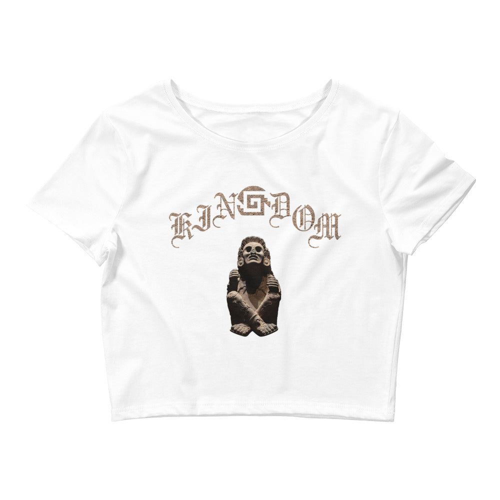 kinGdom Women's Crop T